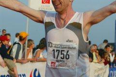 1 er marathon... Au pied du Mont saint-Michel