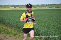 Courir dans les pleines normande