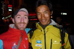 Avec Dawa Sherpa